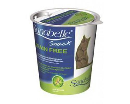 Bosch Sanabelle Grain Free-Snack Лакомство для кошек Бош Санабелль Грэйн Фри пищевая непереносимость и аллергией на злаковые. Вес: 200 г