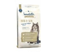 Bosch Sanabelle Hair&Skin Корм для привередливых и выставочных кошек Бош Санабелль Хэа&Скин. Вес: 400 г