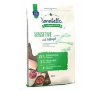 Bosch Sanabelle Sensitive Корм для кошек аллергиков и длинношерстных Бош Санабелль Сенситив с Птицей. Вес: 400 г