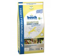 Bosch Sensitive Lamb & Rice Корм для собак Бош Сенситив Ягненок с Рисом. Вес: 1 кг
