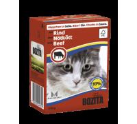 Bozita super premium Кусочки в СОУСЕ для кошек с говядиной (Beef). Вес: 370 г