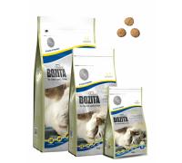 Bozita super premium для домашних и стерилизованных кошек с курицей и рисом (Indoor&Sterilised 32/14). Вес: 400 г