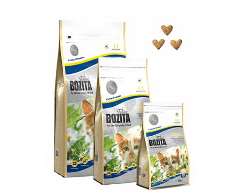 Bozita super premium для котят с курицей, лососем и рисом (Kitten 35/18). Вес: 2 кг