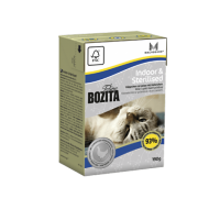 Bozita super premium Кусочки в желе для Домашних и стерилизованных кошек с курицей (Indoor&Sterilised). Вес: 190 г