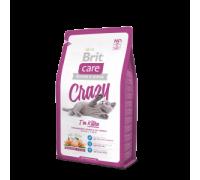 Brit Care Cat Crazzy Kitten для Котят, беременных и кормящих кошек. Вес: 400 г