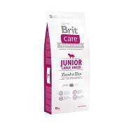 Brit Care Junior Large Breed Lamb & Rice для щенков и молодых собак крупных пород ягненок с рисом. Вес: 1 кг