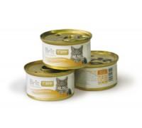 Brit Care Tuna, Carrot & Pea консервы для кошек Тунец, морковь, горошек. Вес: 80 г