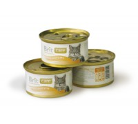 Brit Care Tuna, Carrot & Pea консервы для кошек Тунец, морковь, горошек 80 г