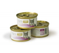 Brit Care Tuna & Salmon консервы для кошек Тунец с лососем 80 г