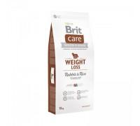 Brit Care Weight Loss для собак склонных к полноте кролик с рисом. Вес: 1 кг