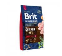 Brit Premium by Nature Adult L для взрослых собак крупных пород. Вес: 3 кг