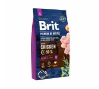 Brit Premium by Nature Adult S для взрослых собак мелких пород. Вес: 1 кг