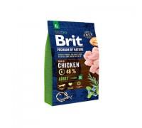 Brit Premium by Nature Adult XL для взрослых собак гигантских пород. Вес: 15 кг