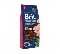 Brit Premium by Nature Junior L для щенков и молодых собак крупных пород. Вес: 3 кг