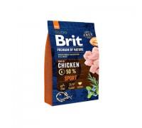 Brit Premium by Nature Sport для активных собак Всех пород. Вес: 3 кг