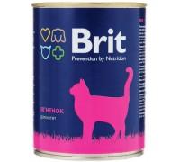 Brit консервы для котят Ягненок. Вес: 340 г