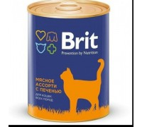 Brit консервы для кошек Индейка. Вес: 340 г