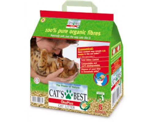 Cat's Best Original Древесный комкующийся наполнитель. Вес: 5 л