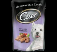 Cesar ягненок с овощами пауч 100 г (Цезарь)