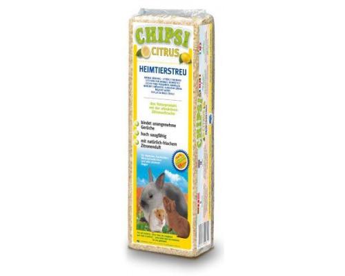 Chipsi Citrus для грызунов Опилки древесные ароматизированные. Вес: 15 л