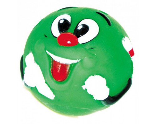 """DEZZIE Игрушка для собак мяч """"Собачья радость"""" 8,5см, винил"""