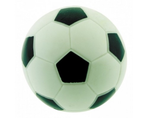 "DEZZIE Игрушка для собак мяч ""Футбол"", 7,8см, винил"