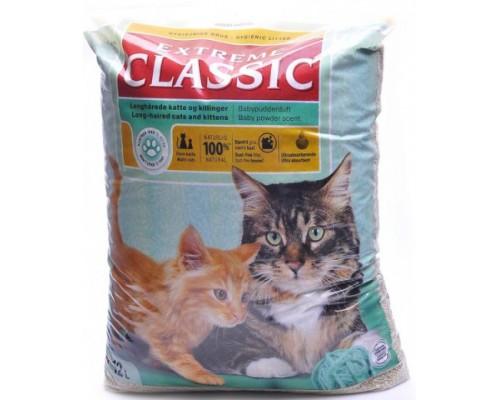 EXTREME CLASSIC Впитывающий наполнитель 12 л (Hygienic litter). Вес: 12 л