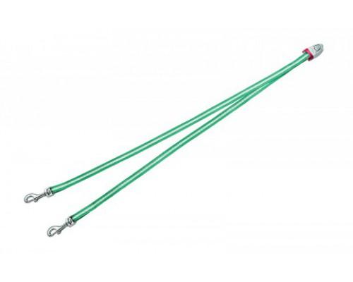 FLEXI Ремень-сворка для двух маленьких собак, бирюзовая (Vario Duo Belt S turquoise) (Флекси)