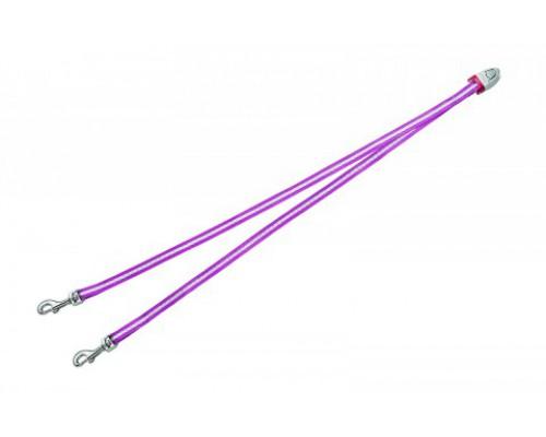 FLEXI Ремень-сворка для двух маленьких собак, розовая (Vario Duo Belt S pink) (Флекси)