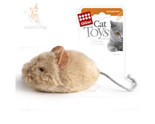 GiGwi Мышка со звуковым чипом