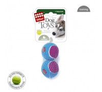 GiGwi Игрушка для собак 2 мяча с пищалкой Средние