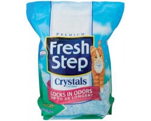 Fresh Step Crystals - наполнитель впитывающий, силикагель. Вес: 1,81 кг