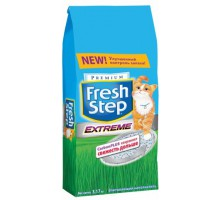 Fresh Step Extreme - впитывающий наполнитель с тройным контролем запахов. Вес: 3,17 кг