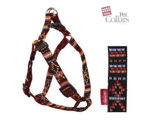 GiGwi Шлейка XL Разноцветный нейлон Для больших собак