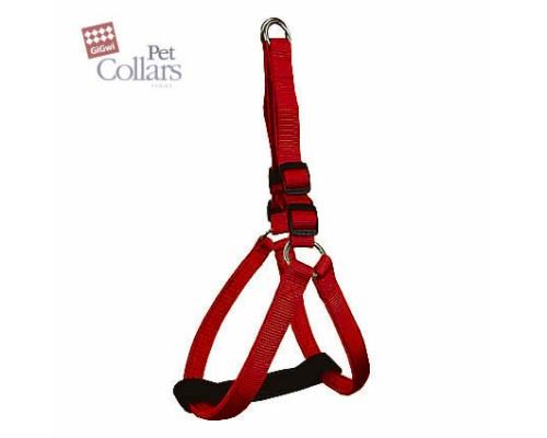 GiGwi Шлейка М Красный нейлон с мягкими вставками Для маленьких собак