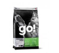 GO! NATURAL Holistic Беззерновой для Котят и Кошек с чувствительным пищеварением: Форель, Лосось (Sensitivity + Shine Grain Free Freshwater Trout & Salmon Cat Recipe)