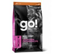 GO! Беззерновой для Собак всех возрастов с Цельной Курицей (SKIN + COAT Grain Free Chicken Recipe DF). Вес: 1,59 кг