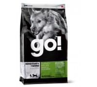 GO! Беззерновой для Щенков и Собак с Индейкой для чувствительного пищеварения (Sensitivity + Shine Turkey Dog Recipe, Grain Free, Potato Free). Вес: 1,59 кг