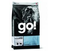 GO! Беззерновой для щенков и собак с минтаем для чувстительного пищеварения (Sensitivity + Shine LID Pollock Dog Recipe, Grain Free, Potato Free). Вес: 1,59 кг