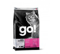 GO! Для Котят и Кошек с Цельной Курицей, фруктами и овощами (SKIN + COAT Chicken Recipe for Cats). Вес: 1,36 кг