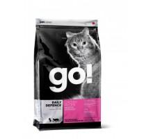 GO! Для Котят и Кошек с Цельной Курицей, фруктами и овощами (GO! SKIN + COAT Chicken Recipe for Cats). Вес: 1,36 кг