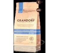 Grandorf Белая рыба с картофелем для взрослых кошек Сенситив White Fish & Potato Adult Sensitive. Вес: 400 г