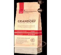 Grandorf Ягненок с рисом для домашних кошек Lamb & Rice Adult Indoor. Вес: 400 г