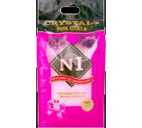 N1 For Girls Силикагелевый наполнитель 5 л