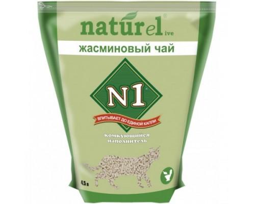 "N1 NATUReL ""Жасминовый чай"" - Комкующийся 4,5 л"
