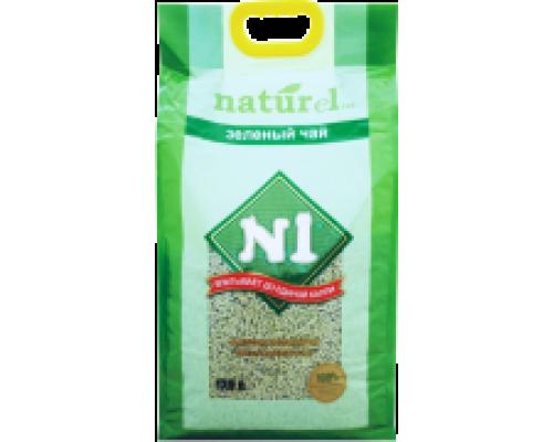 """N1 NATUReL """"Зеленый чай"""" - Комкующийся 4,5 л"""