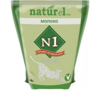 "N1 NATUReL ""Молоко"" - Комкующийся 4,5 л"