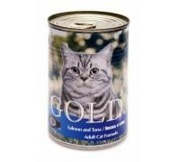 "NERO GOLD Консервы для кошек ""Лосось и тунец"" (Salmon and Tuna). Вес: 410 г"