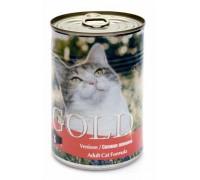 """NERO GOLD Консервы для кошек """"Свежая оленина"""" (Venison). Вес: 410 г"""