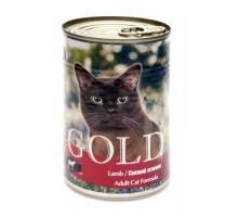 """NERO GOLD Консервы для кошек """"Свежий ягненок"""" (Lamb). Вес: 410 г"""